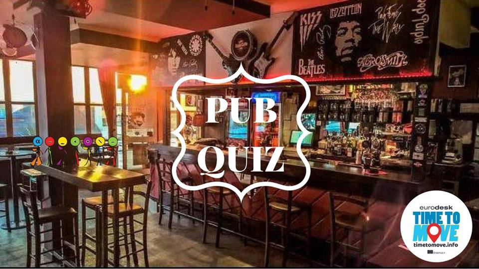 Time to move pub quiz