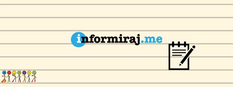 Informiraj na Informiraj.me portalu
