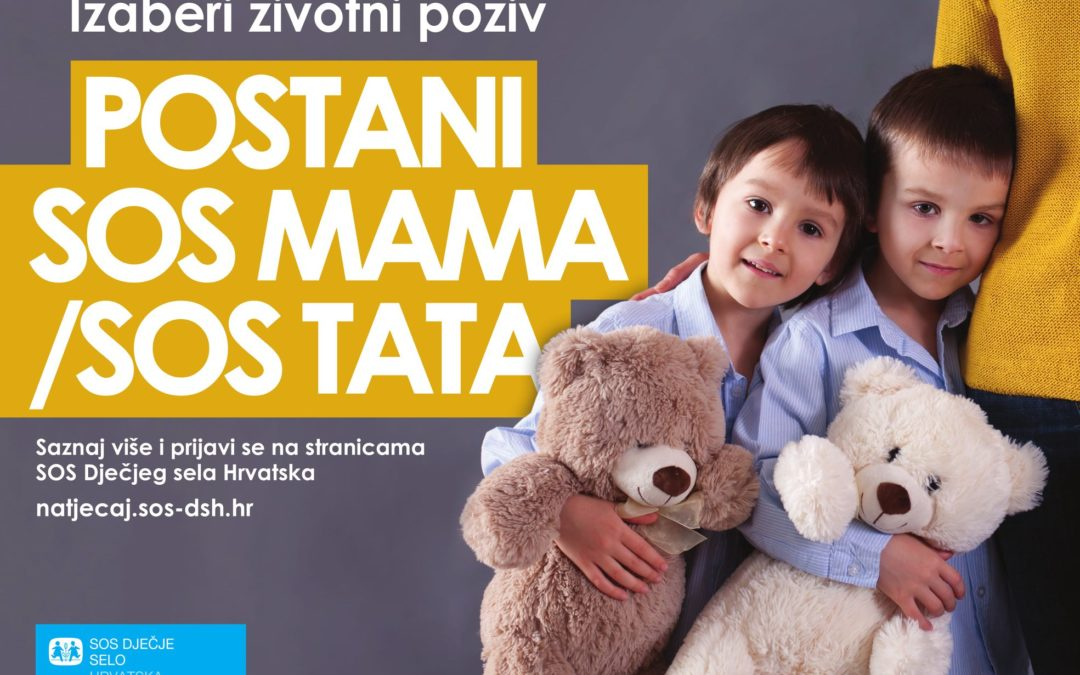 Postani SOS mama/tata u Dječjem selu Lekenik!