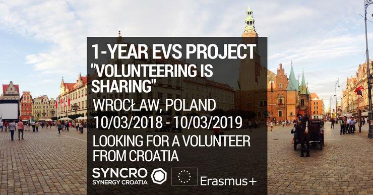 Jednogodišnji EVS u Poljskoj!