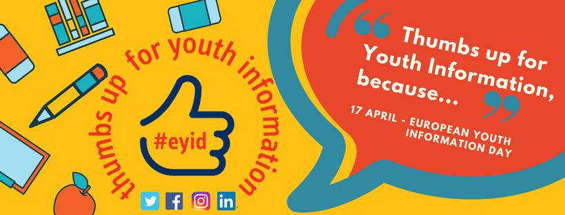 Palac gore za informacije za mlade #EYID2018 #youthinfo