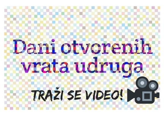Sudjeluj u video spotu o Danima otvorenih vrata