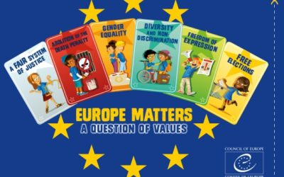 "Vijeće Europe kreiralo igru ""Europe Matters – a Question of Values"""