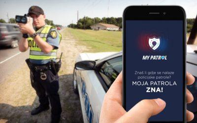 Aplikacija za dojavu policijskih kontrola