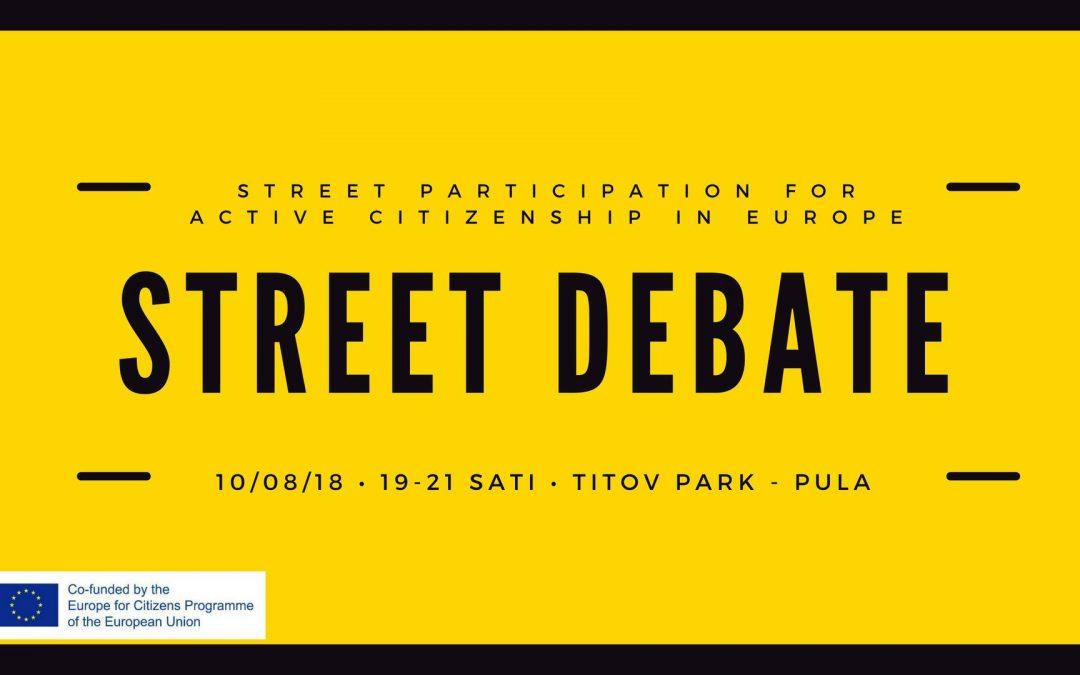 Sudjeluj u uličnoj debati!