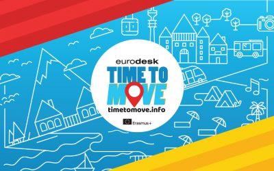 Započela Eurodeskova #timetomove kampanja