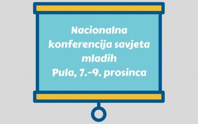Nacionalna konferencija savjeta mladih RH u Puli