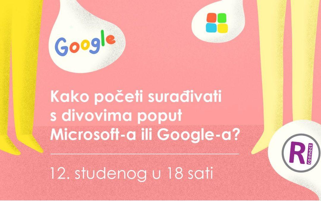 Kako početi surađivati s divovima poput Microsoft-a ili Google-a?