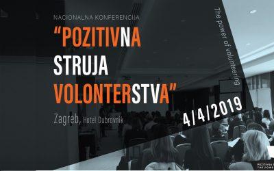 """Nacionalna konferencija """"Pozitivna struja volonterstva"""""""