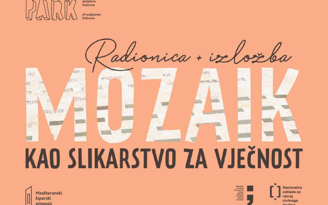 Radionica mozaika uz Zdravka Milića