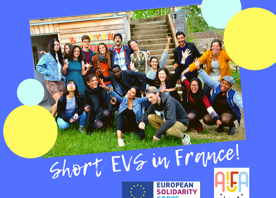 Prilika za kratkoročni EVS u Francuskoj