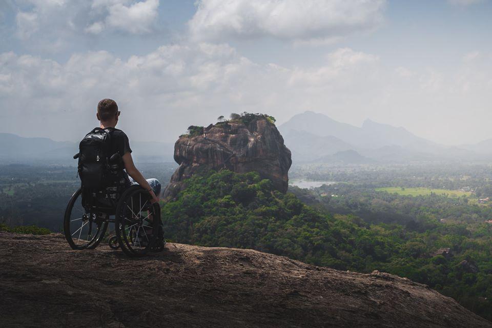 Neustrašivi Slaven postao prva osoba s invaliditetom koja se popela na Pidurangala stijenu na Šri Lanci