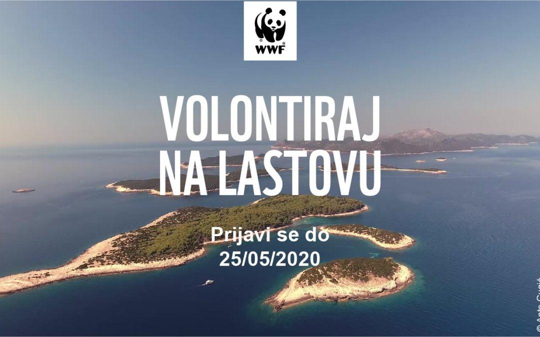 WWF Adria traži troje kandidata za volontiranje na Lastovu