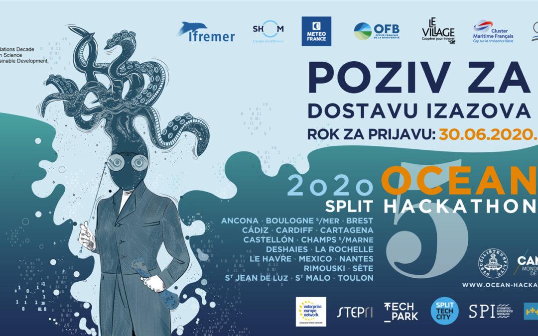 Prijavi se na Ocean Hackathon i otputuj u Brest