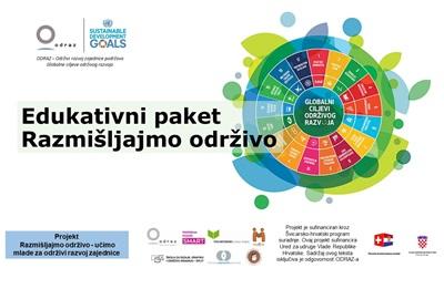 Edukativni paket o održivom razvoju za srednjoškolce