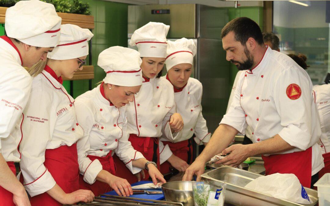 Osvoji stipendiju za Aspirin studij Gastronomije u Splitu ili Zagrebu