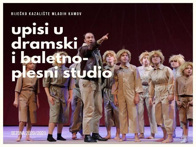 Počeli upisi u dramski i baletno-plesni studio