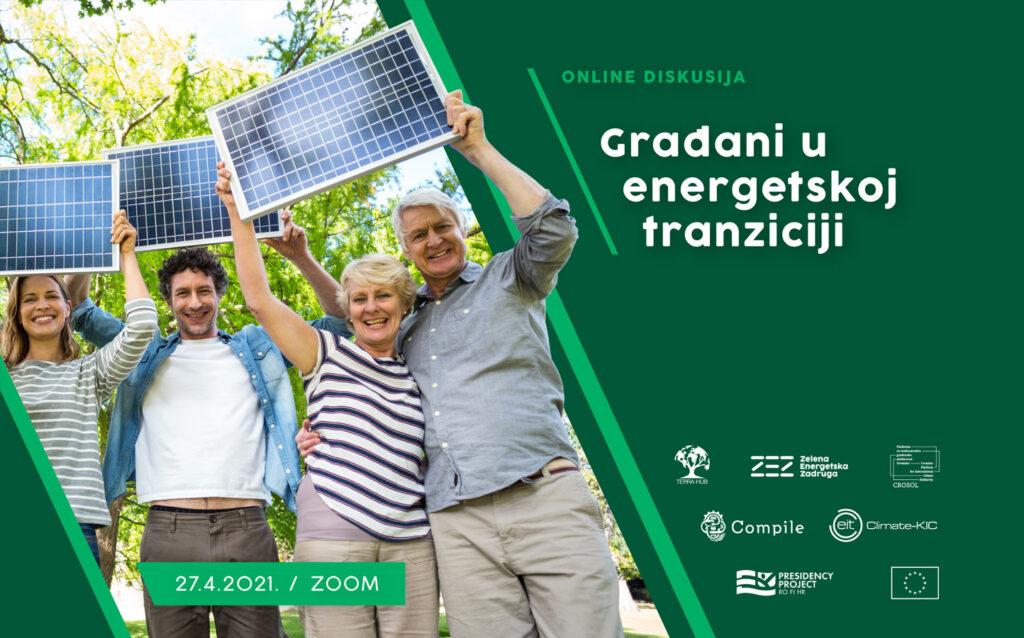 """Saznajte kako postati """"Građanin u energetskoj tranziciji"""""""