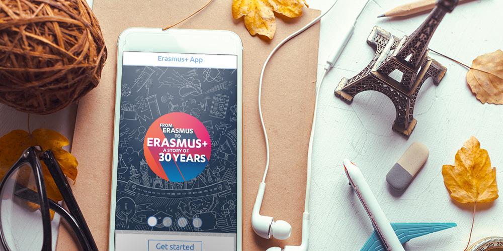Erasmus+ mobilna aplikacija