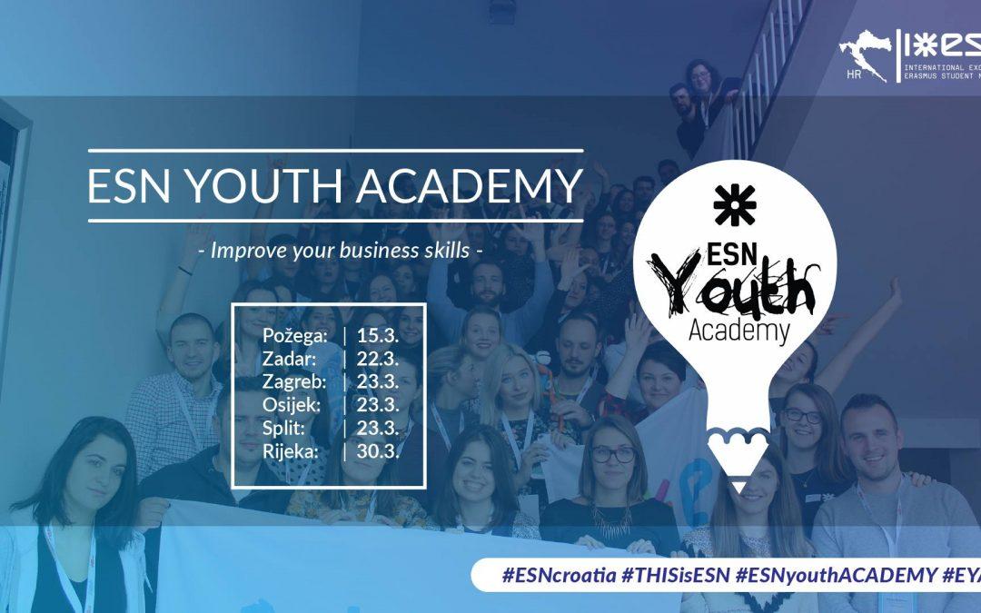 Otvorene prijave za ESN Youth Academy