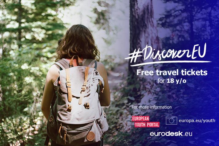 Istraži Europu uz DiscoverEU