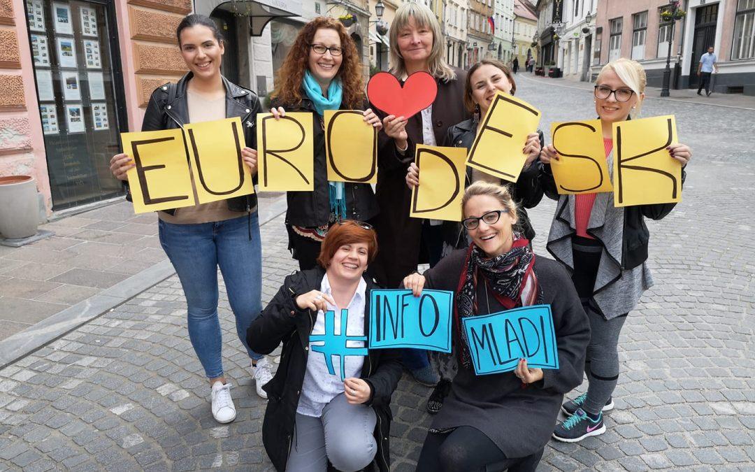 Studijski posjet slovenskim organizacijama koje se bave informiranjem mladih