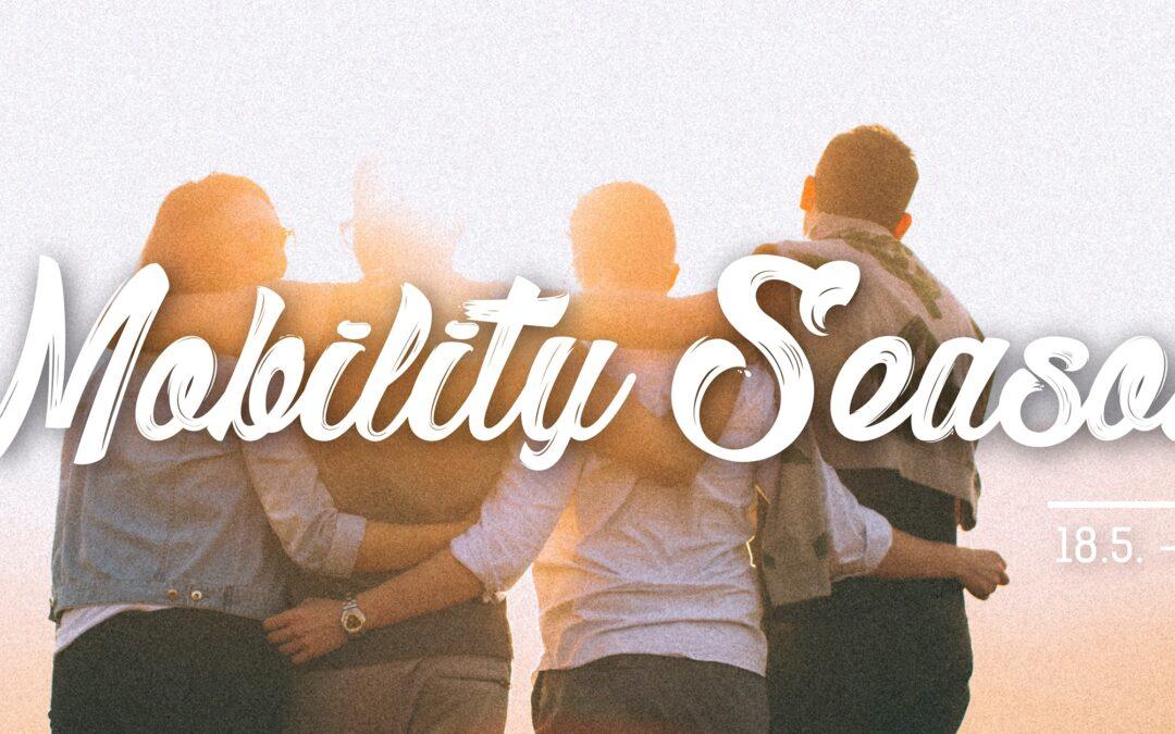 "Postani Erasmus+ student uz ""Mobility Season"""