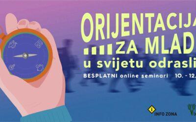 Prijavi se na ciklus besplatnih online radionica za mlade