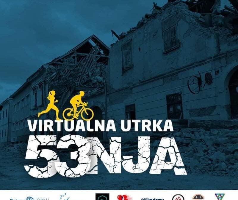 Prijavi se na virtualnu utrku za pomoć Petrinji