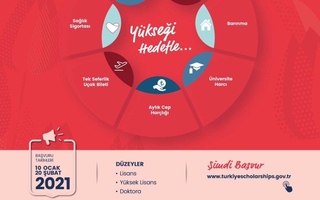 Prijavi se za stipendiju Republike Turske