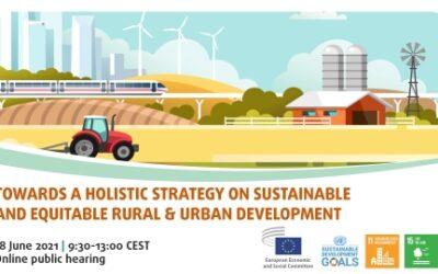 Javna rasprava o održivom ruralnom i urbanom razvoju