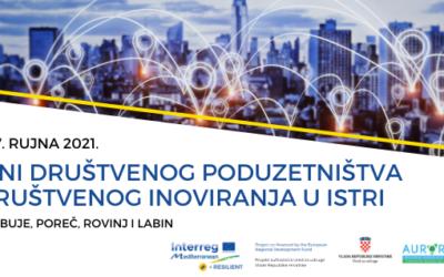 Idući tjedan počinju Dani društvenog poduzetništva u Istri